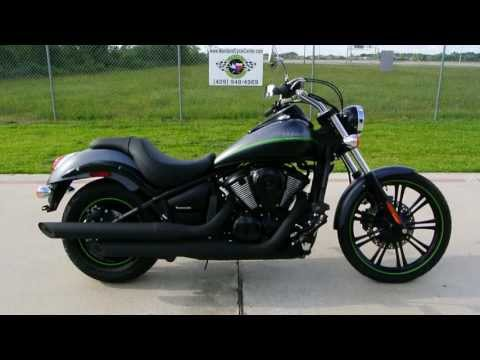 $9.199 2013 Vulcan 900 Custom in Metallic Flat Platinum Gray / Flat Ebony Two Tone by Kawasaki