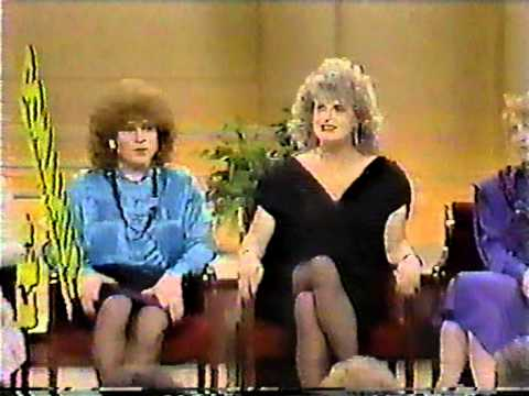 Donahue With Crossdressers Featuring Joann Roberts And Tri Ess Part 1