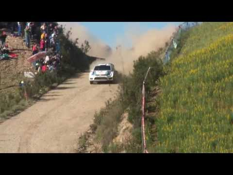 WRC Rally Portugal 2013 -  Almod�var - Power Stage ( Jump ) (HD)