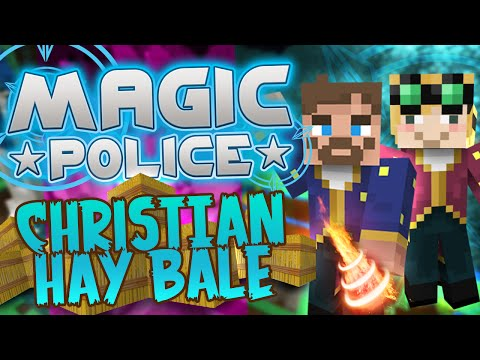 Minecraft Magic Police #71 - Christian Hay Bale (yogscast Complete Mod Pack) video