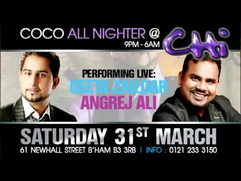 Geeta Zaildar & Angrej Ali @ Chi Bar 31st March