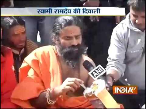 Ramdev performs peace prayers at Kedarnath