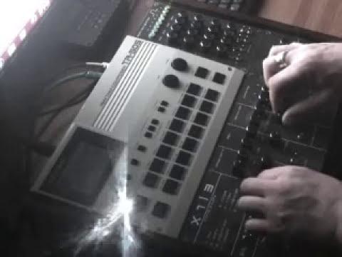 X1L3 - Circuit bent - synth mod - Roland TR-505 + Tascam four track cassette