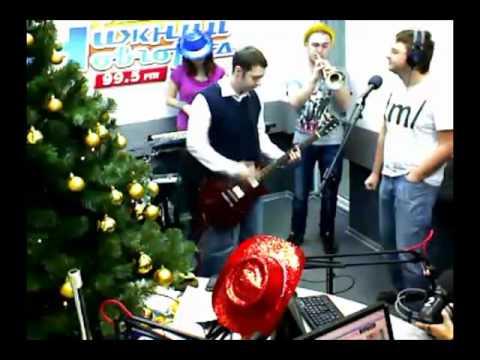 """Группа """"Аляска"""" на радио """"Нижний Новгород"""" часть 1"""