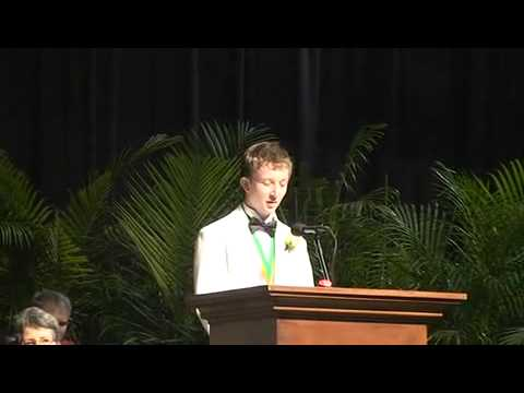 Noah Luskey 2011 Valedictory Savannah Country Day School