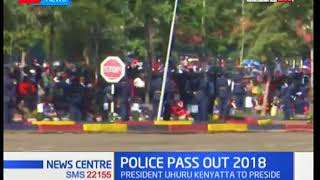 President Uhuru Kenyatta is expected to preside over the 2018 police pass out in Kiganjo Nyeri
