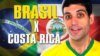 Brasil x Costa Rica, passamos mal mas vencemos e o melhor MEME do Tite