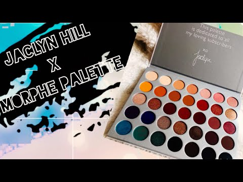 Jaclyn Hill x Morphe Palette | Unboxing + Review