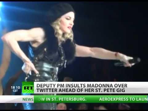 Vice PM calls Madonna