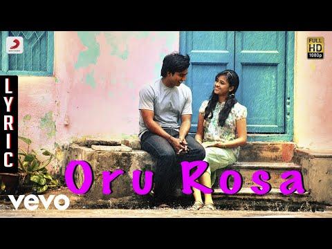 Jeeva - Oru Rosa Lyric | Vishnu Sri Divya | D. Imman