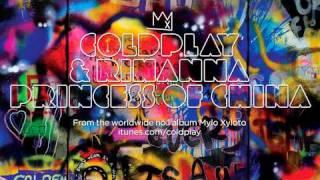 Coldplay & Rihanna - Princess Of China (With Lyrics)