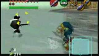 Zelda OoT- Dark Link Fight Master Sword only