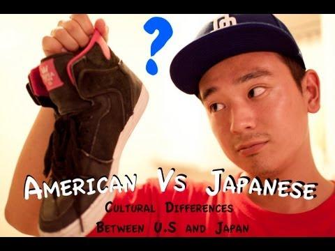 American Vs Japanese - Cultural Differences between Japan and U.S. アメリカと日本の文化の違い