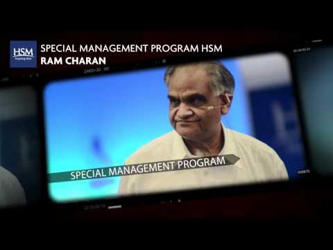 SPECIAL MANAGEMENT PROGRAM RAM CHARAN