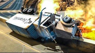 EXTREME CRASHES #14 - BeamNG Drive