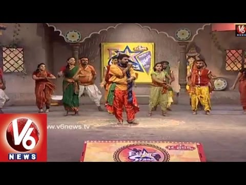 Singers Performing Telangana Folk Songs in Folk Stars Dhoom Thadaka - 12