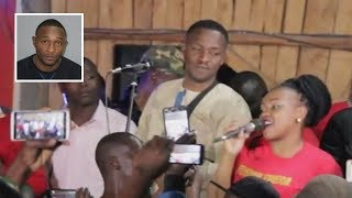 Jose Gatutura performs Tuirio Twega song live at meet & meat makuti in Kitengela