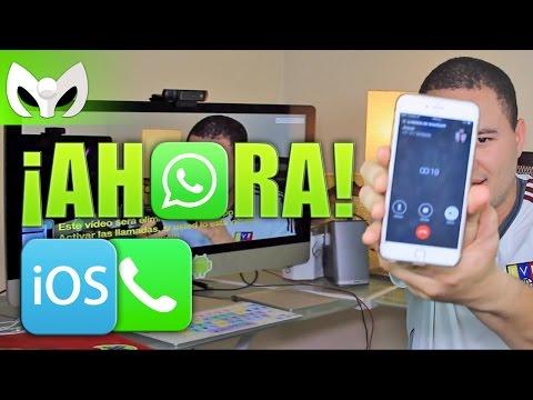 iOS! LLAMADAS DE WHATSAPP ACTIVAS POR CORTO TIEMPO! (ACTUA AHORA!)