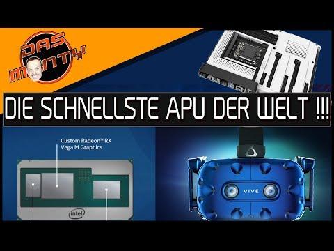 CES NEWS - Intel Kaby Lake G | HTC Vive Pro | Mainboards von NZXT | DasMonty - Deutsch