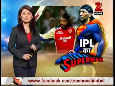 Zee News : The Magic Of Chris Gayle In Ipl 2013 video