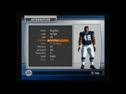 Madden NFL 07 Historic Team How To Create The 1971 Dallas Cowboys Video Game Simulation Video Game Video Game Genre PlayStation 2 Video Game Platform America...