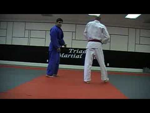 Judo: Hiza Guruma - Knee wheel Image 1