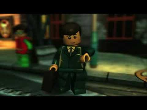 LEGO Batman: The Videogame - Poison Ivy and Bruce Wayne