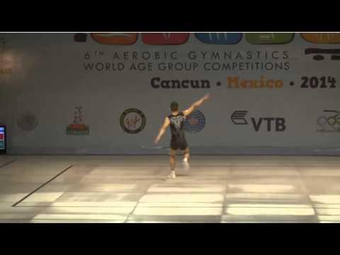 WCH Aeróbic Cancún 2014 - (FINAL) AG2 - Antonio Papazov - BUL