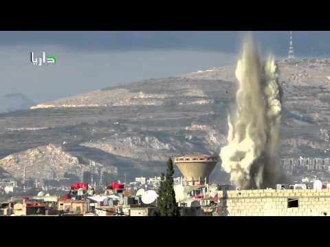 Daraa Syria 02 14 2015 missiles hit Elephant