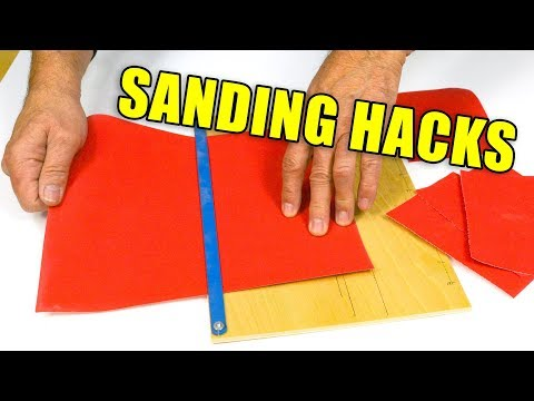 5 Quick Wood Sanding Tips and Tricks - Woodworking Hacks