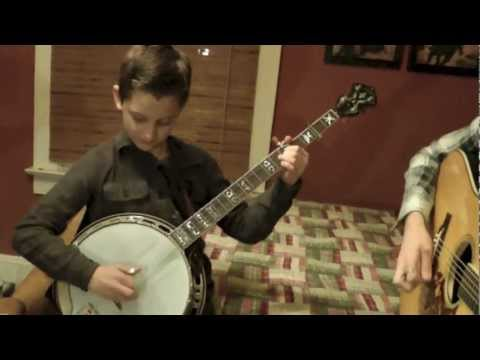 10 Year Old Jonny Mizzone - Sleepy Man Banjo Boys - Rockwood Deer Chase