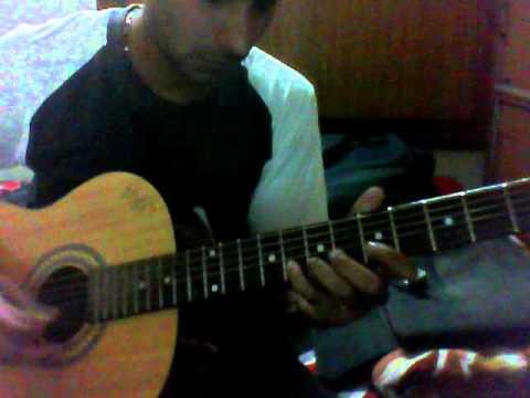 Humhe tumse pyar kitna+hindi+ guitar+lead.wmv