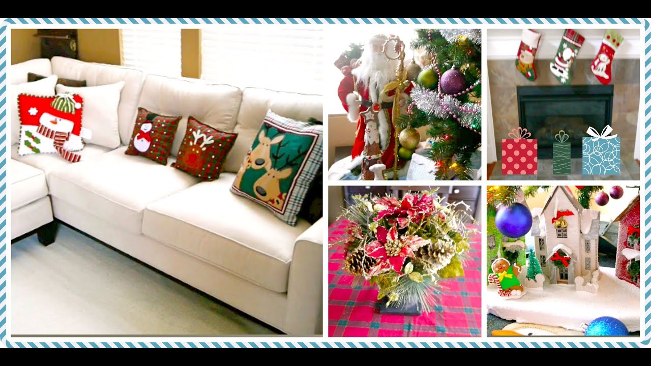 Tour decoracion navide a de mi casa youtube for Decoraciones de casas modernas 2016