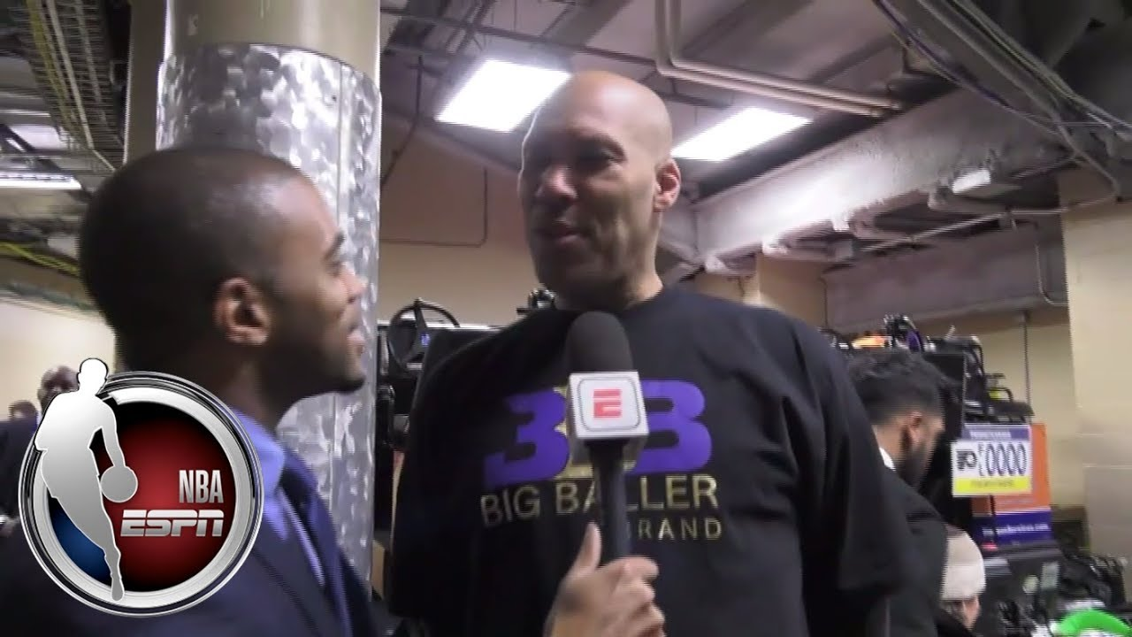 LaVar Ball entertains in ESPN interview after Lakers-Lonzo win over 76ers | ESPN