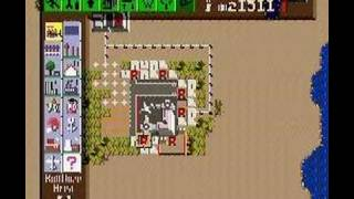SimCity SNES - making a mini-airport