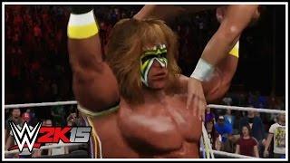 WWE 2K15 New Gameplay Screenshots - Ultimate Warrior, Legend Killer Randy Orton, Hulk Hogan & More!