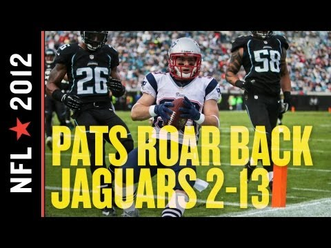 In a surprisingly competitive game, the Jacksonville Jaguars lost by a touchdown to the New England Patriots, 23-16. Chad Henne threw for nearly 350 yards an...