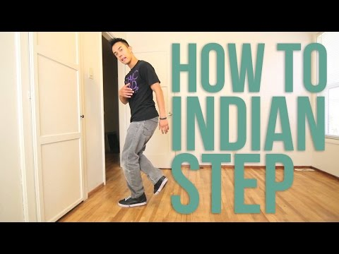 How to Breakdance | Indian Step | Top Rock Basics