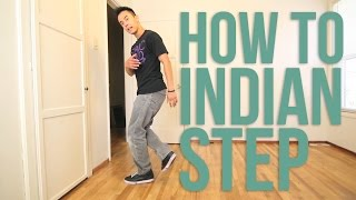 How to Breakdance I Indian Step I Top Rock Basics