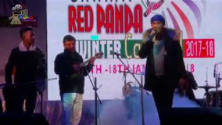 PUSHPAN PRADHAN  Live Performance in Gangtok || SIKKIM RED PANDA WINTER CARNIVAL 2018 ...