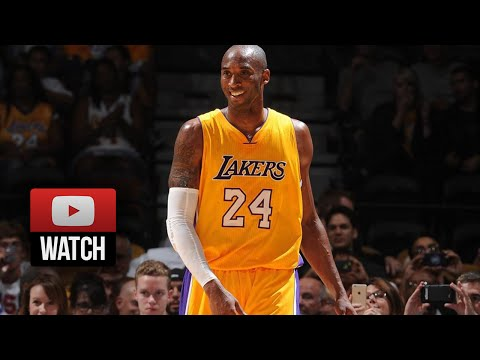 Kobe Bryant IS BACK, Full Highlights vs Nuggets (2014.10.06) - 13 Pts, Vintage Mamba!