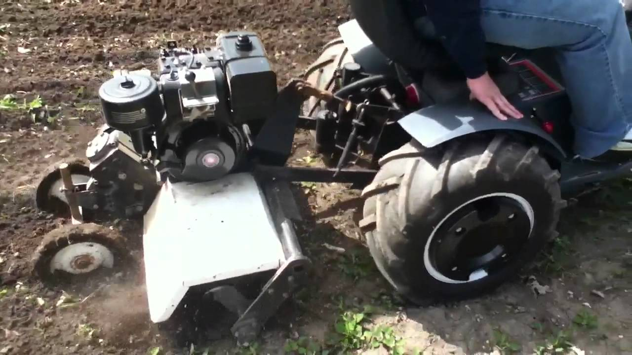 Tilling With The 18 6 Sears Youtube