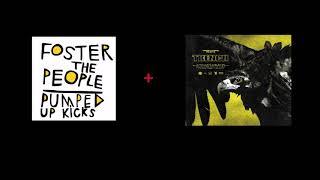 twenty one pilots x Foster the People - MY BLOOD/PUMPED UP KICKS [Mashup]