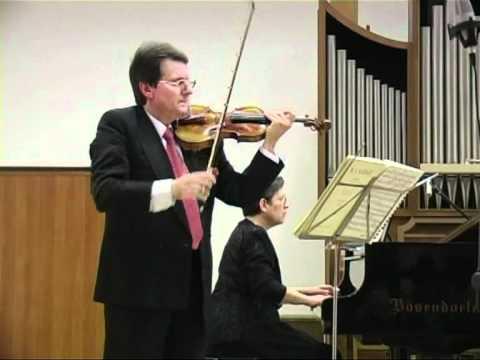 Mozart: Violin Sonata KV 378 (2°&3° movs.) - Micho Dimitrov (violin) Violeta Popova (piano)