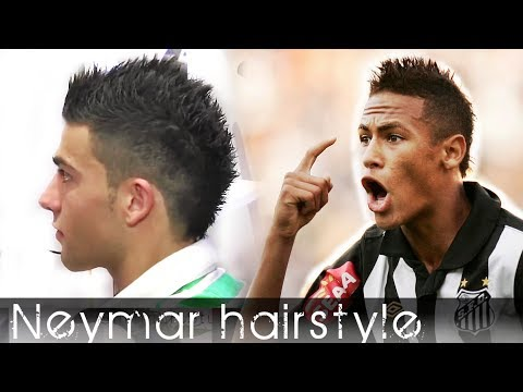 Men's hair Neymar inspired hair style from Cristiano Ronaldo hair Styling By Vilain