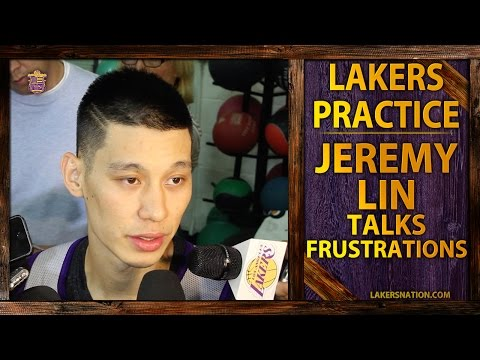 Lakers Practice: Jeremy Lin Talks Frustrations, Spacing