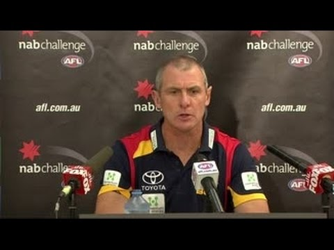 Walsh post-match: NAB 3