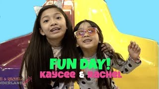KIDS DAY OUT with KAYCEE & RACHEL