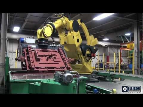 M-2000iA Sand Core Coating Robot – Courtesy of Ellison Technologies