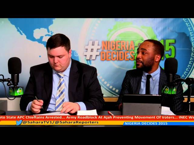 #NIGERIA DECIDES 2015 PANEL 16